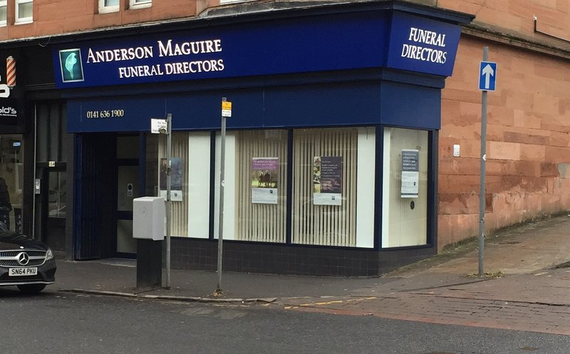 Anderson Maguire Shawlands, City of Glasgow, funeral director in City of Glasgow