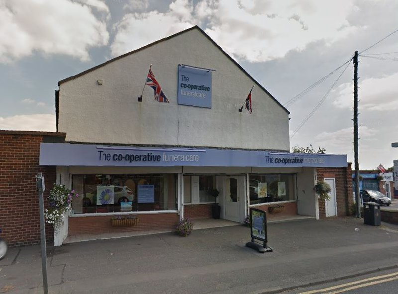 The Co-operative Funeralcare Spondon, Derbyshire, funeral director in Derbyshire