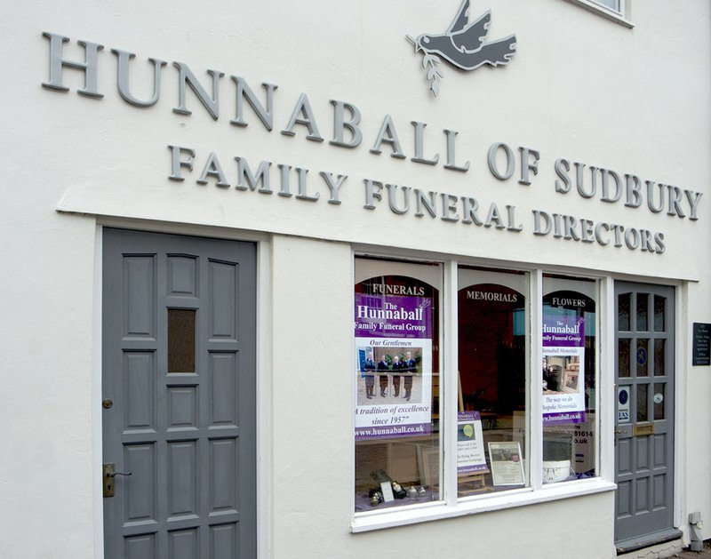 Hunnaball Family Funeral Group - Sudbury