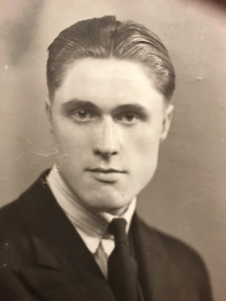 Our father as a young man