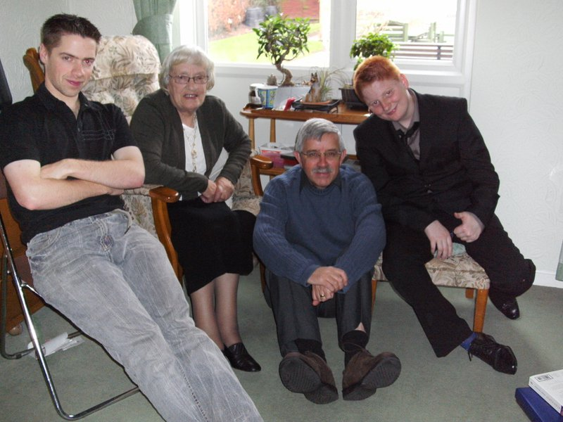 Terence, Doris, Trevor and Mark