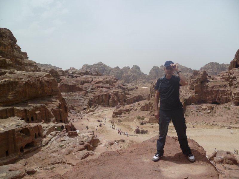 Dad in Petra, Jordan - 2014. xx