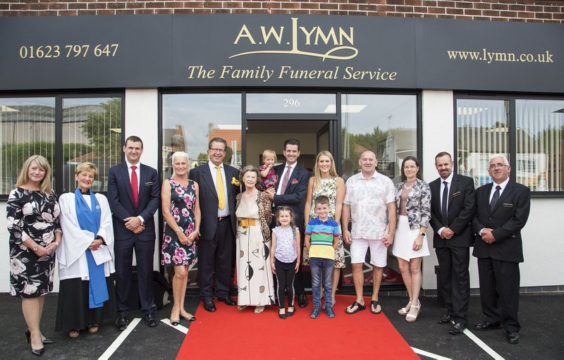 A.W. Lymn Rainworth, Nottinghamshire, funeral director in Nottinghamshire